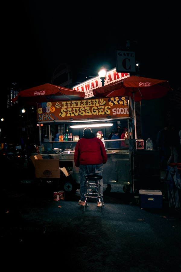 Red Sox Italian Street Sausage, Fenway - Sarah Kozak Photography