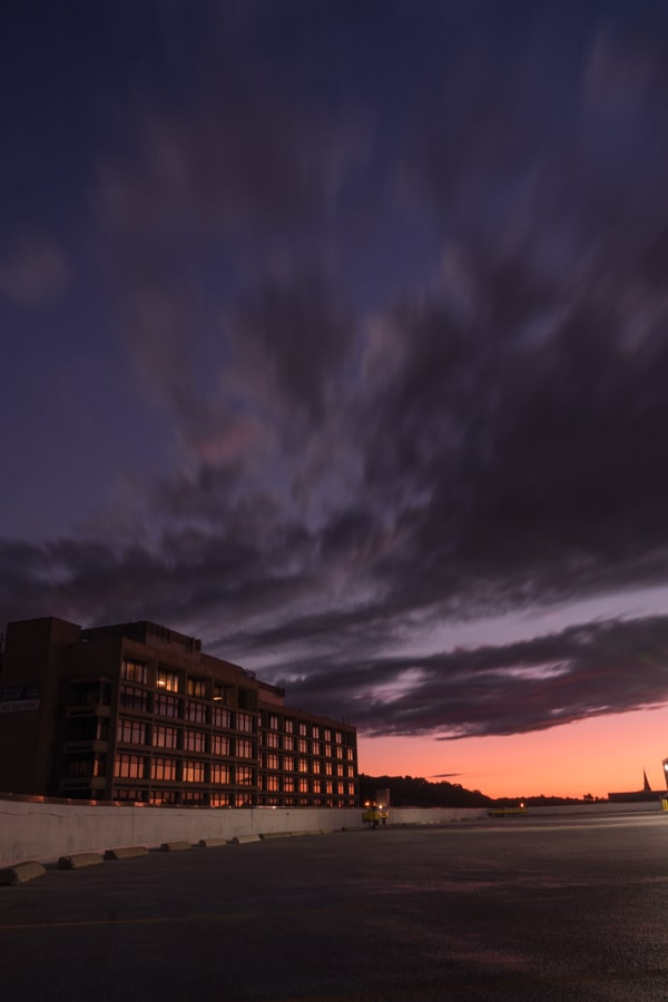 Newton MA Sunset - Urban - Sarah Kozak Photography