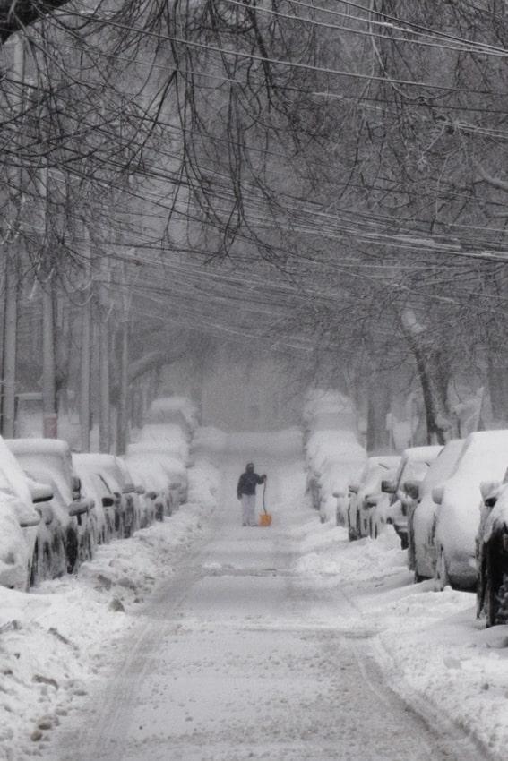 Brighton, MA Snowstorm - Sarah Kozak Photography