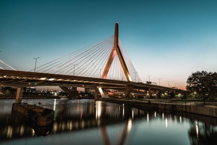 Boston Skyline Zakim Bridge- Urban - Sarah Kozak Photography-17-min